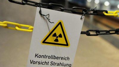"""Umweltministerium prüft das """"Aus"""" für deutsche Brennelemente-Produktion"""
