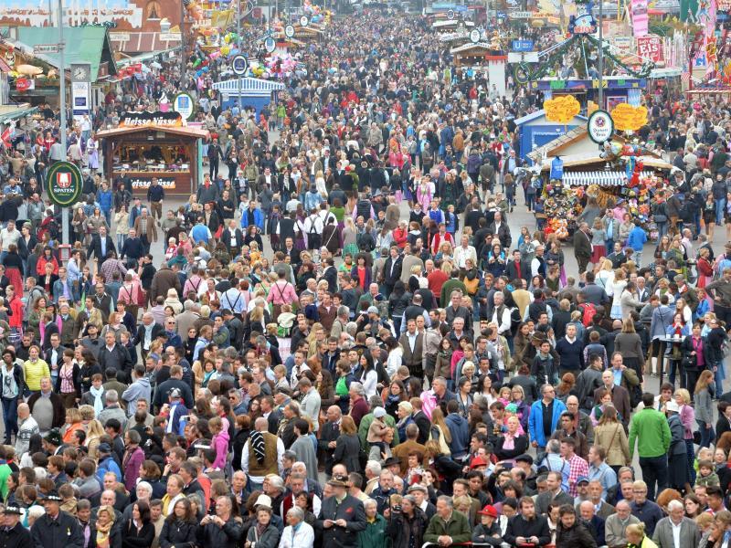 Münchener Oktoberfest wird komplett umzäunt
