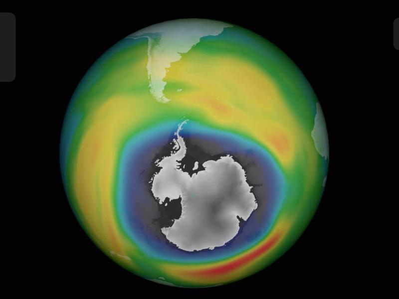 Ozonloch über der Antarktis schließt sich langsam