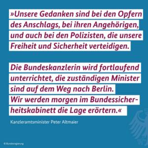 Steffen Seibert zum Anschlag in München Foto: screenshot / epochtimes