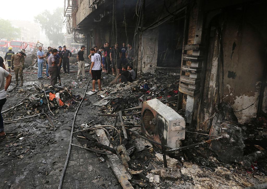 IS-Anschlag in Bagdad: Mindestens 80 Tote und 200 Verletzte