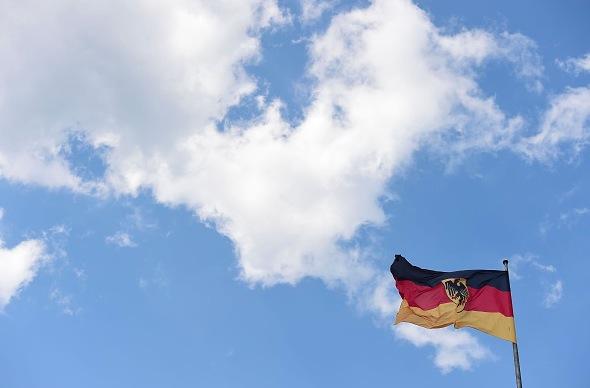Deutschland Flagge Foto: TOBIAS SCHWARZ/Getty Images