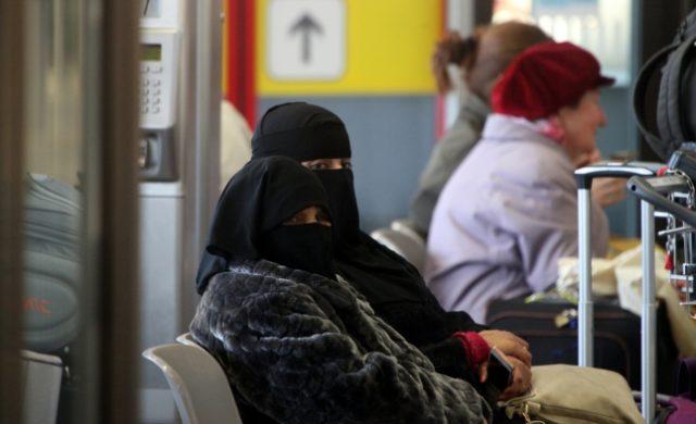 Vollverschleierte Frauen Foto: über dts Nachrichtenagentur