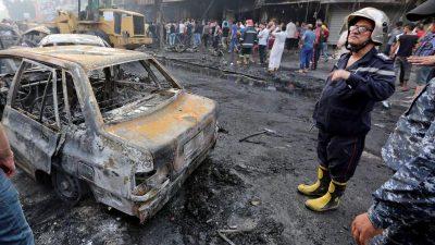 Mindestens elf Tote bei Anschlag in Bagdad