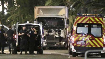 Nizza: Gedenkveranstaltung zu islamistischen Anschlag mit 86 Toten