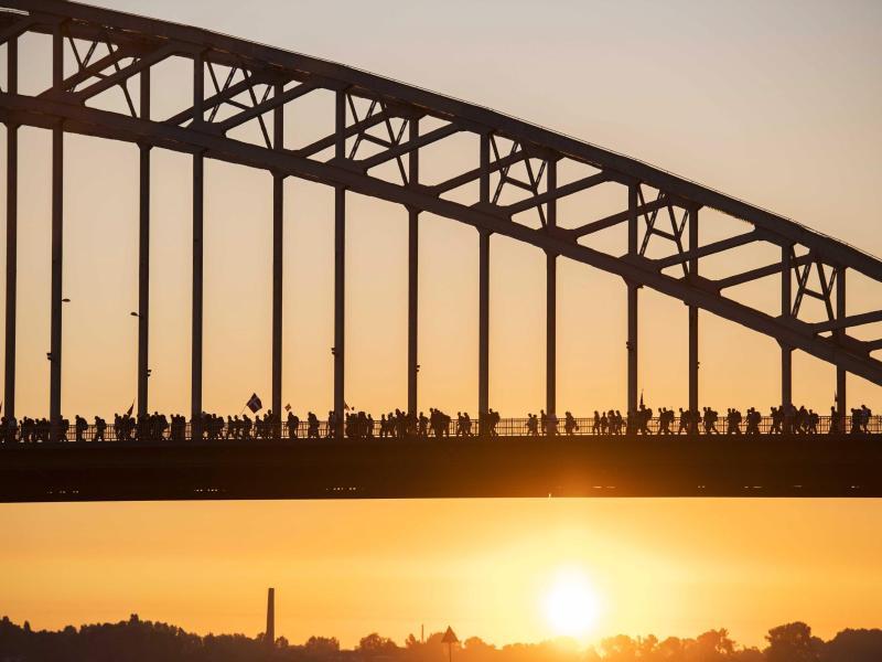 """Wer wandert, wird hundert"" – Der ""Vierdaagse"" Wander-Marathon hat begonnen"