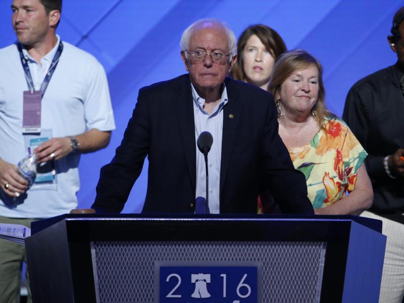 Sanders beschwört Anhänger: Wählt Hillary Clinton