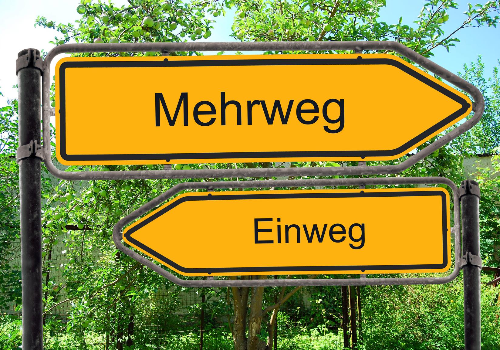 Bundeskabinett beschließt Mehrweg-Pflicht in der Gastronomie und Erweiterung des Einwegpfands