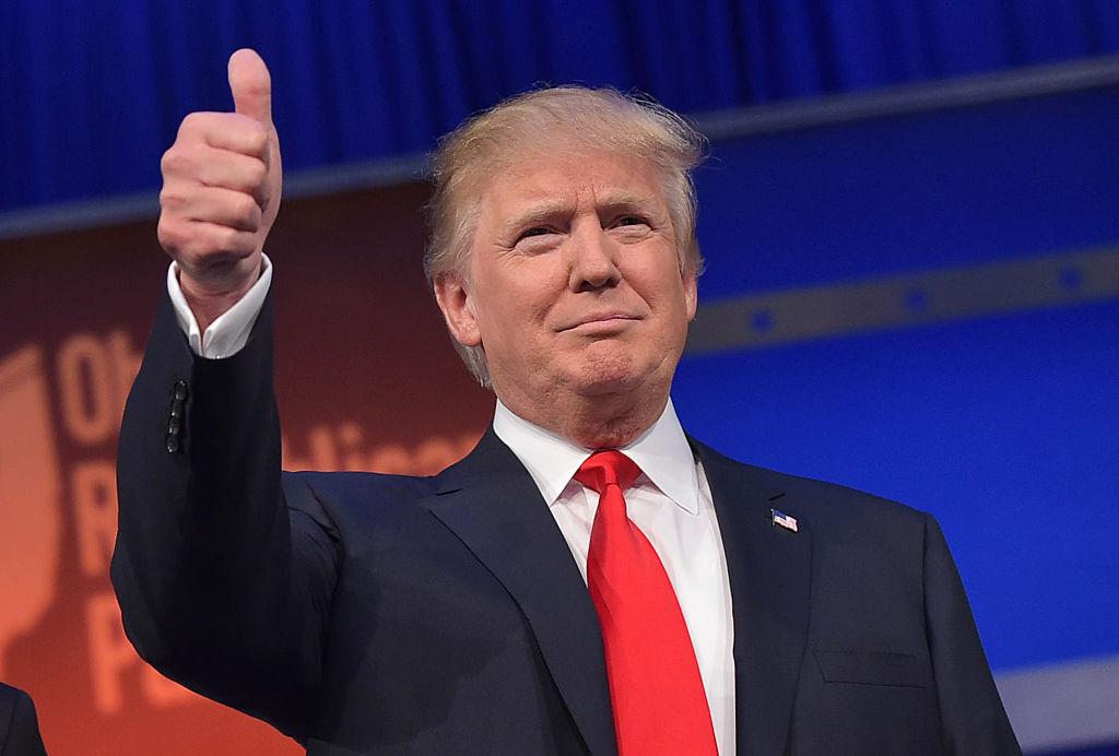 Denkwürdig: Trump einfühlsam an Afro-Amerikaner, knallhart gegen Establishment