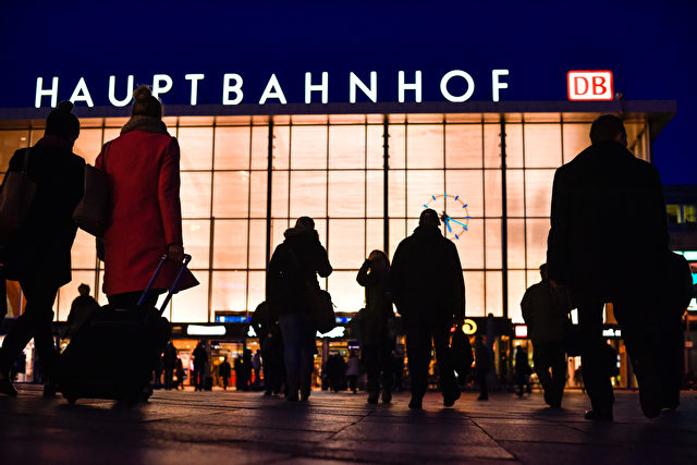 COLOGNE, GERMANY - JANUARY 12: Women, seen in silhouette, go near Hauptbahnhof main railway station, where on New Year's Eve gangs of what victims described as North African men molested, in some cases robbed and even raped passing women on January 12, 2016 in Cologne, Germany. So far more than 500 women have filed charges with police and the incident has ignited a heated debate in Germany over the government's open-door immigration policy for migrants and refugees. Police have stated that men from Morocco and Algeria are among the main nationalities among suspects so far identified. (Photo by Sascha Schuermann/Getty Images)