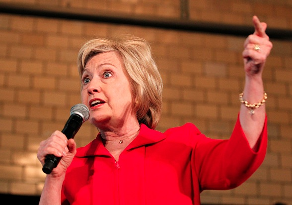 Hillary Clintion Foto: John Sommers II/Getty Images
