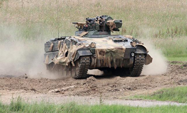 """Bundeswehr-Panzer """"Marder"""" Foto: über dts Nachrichtenagentur"""