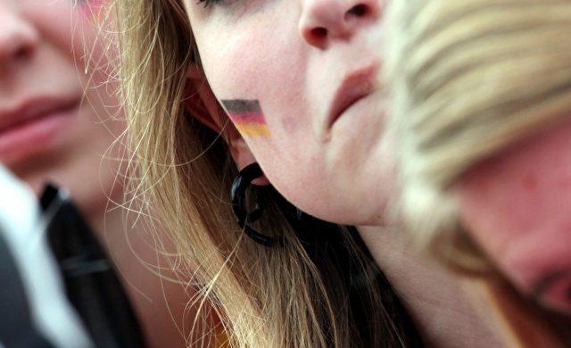 Weiblicher Fußballfan Foto: über dts Nachrichtenagentur