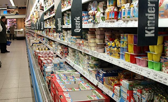 Einkaufsregal in einem Supermarkt Foto: über dts Nachrichtenagentur