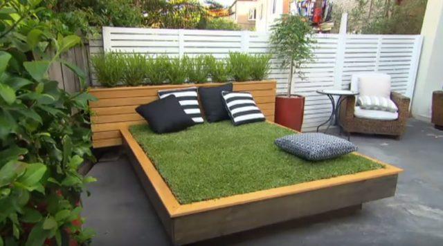 die idee f r einen gem tlichen garten pflanz 39 dir doch dein eigenes bett. Black Bedroom Furniture Sets. Home Design Ideas