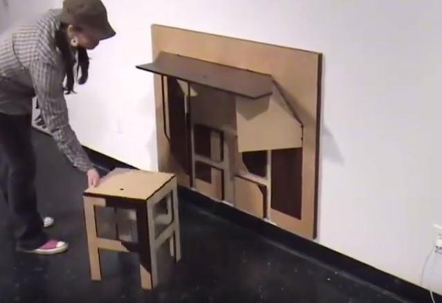Origami Möbel kein platz in der wohnung möbel origami hat auch im kleinsten raum