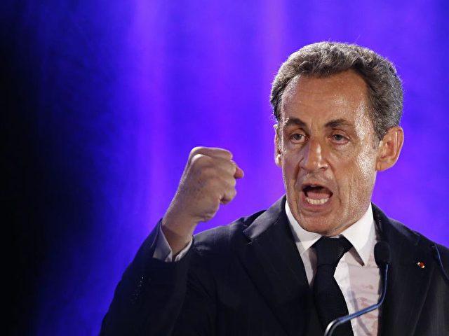 Ex-Präsident Sarkozy warnte vor einer «Tyrannei der Minderheiten». Foto:Guillaume Horcajuelo/dpa