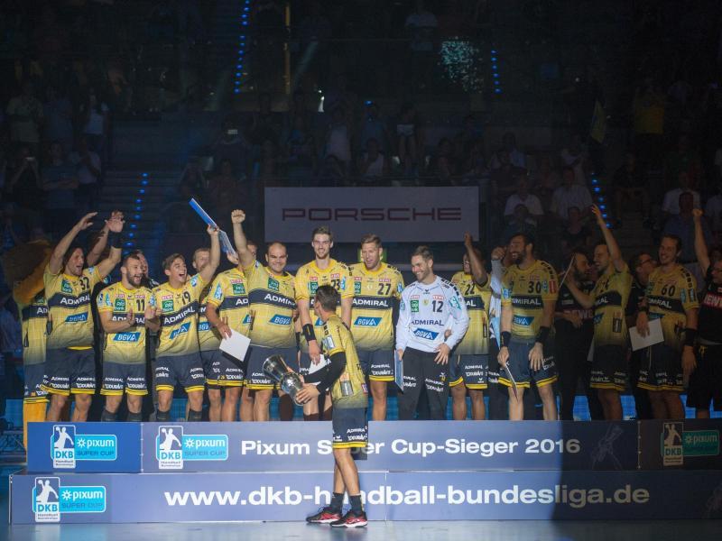 Rhein-Neckar Löwen gewinnem erstmals Super Cup
