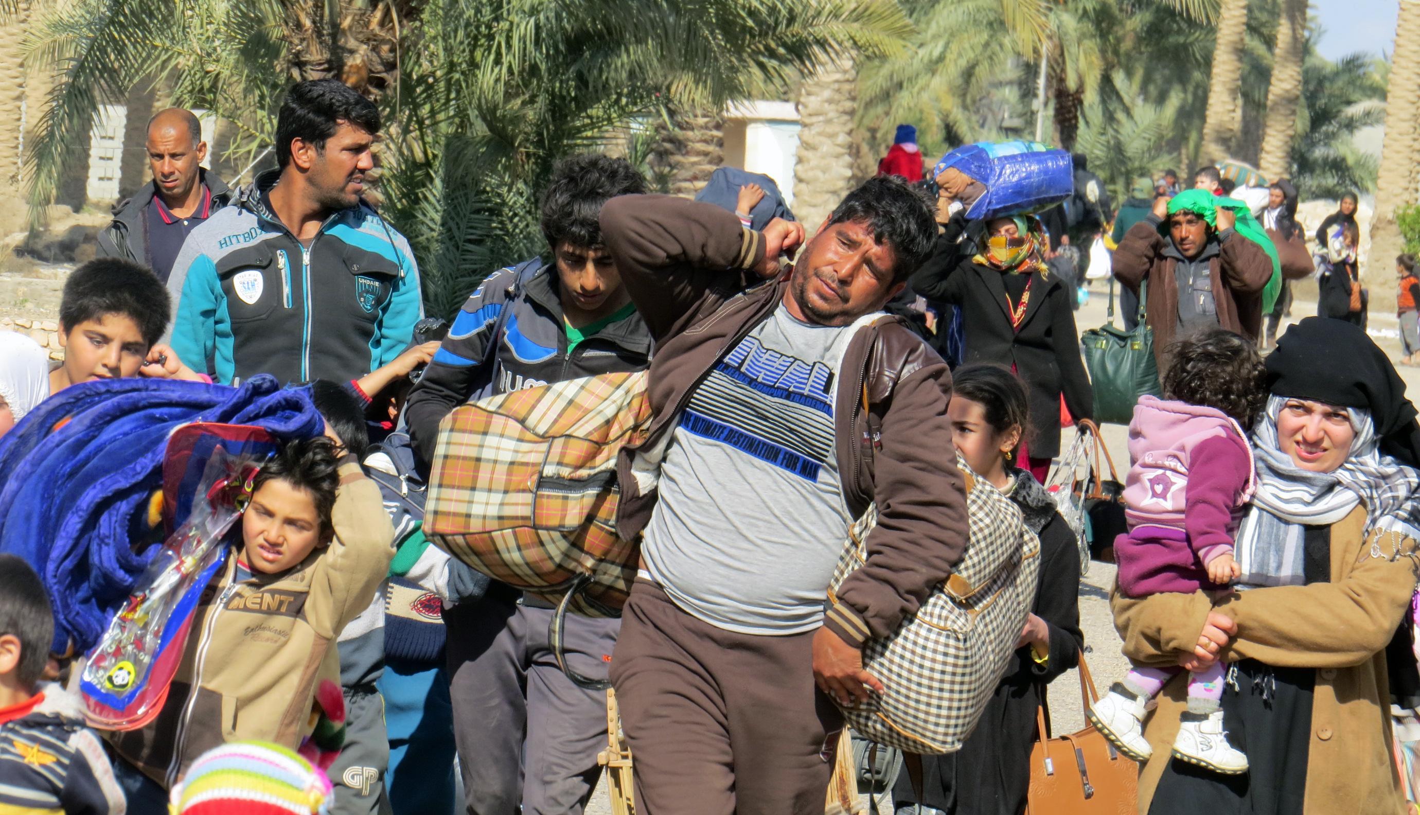 Letzte Anti-IS-Offensive in Mossul: Bald 1,5 Millionen auf der Flucht – Tausende IS-Kämpfer frei