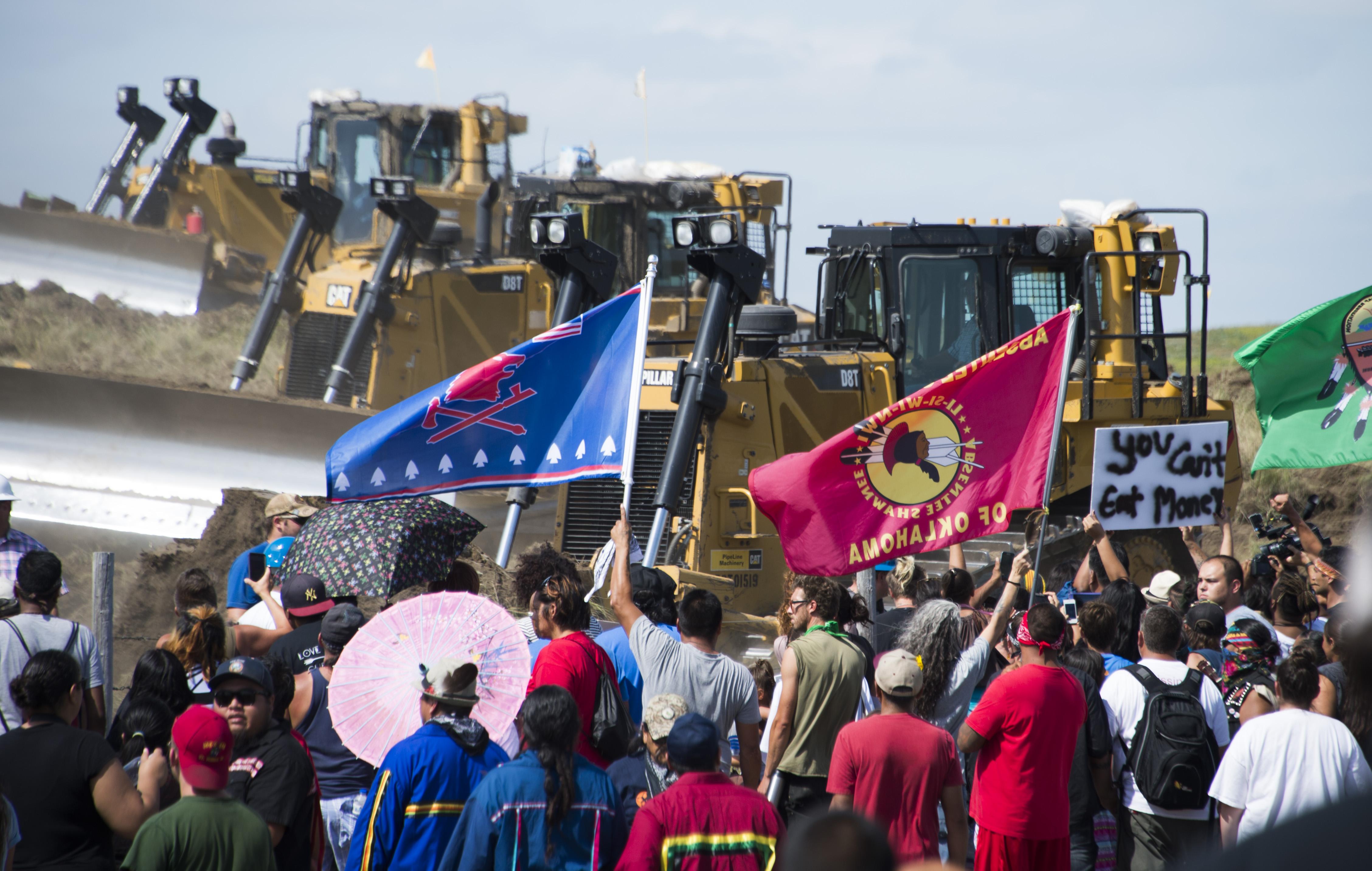Sioux stoppen Pipeline-Projekt in North Dakota