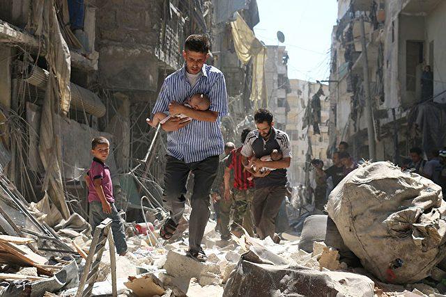 Syrien-Krieg Foto: AMEER ALHALBI/Getty Images
