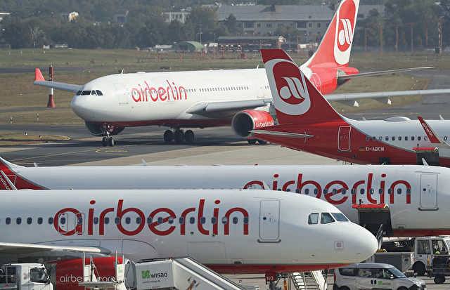 Air Berlin Flugzeuge Foto: Sean Gallup/Getty Images