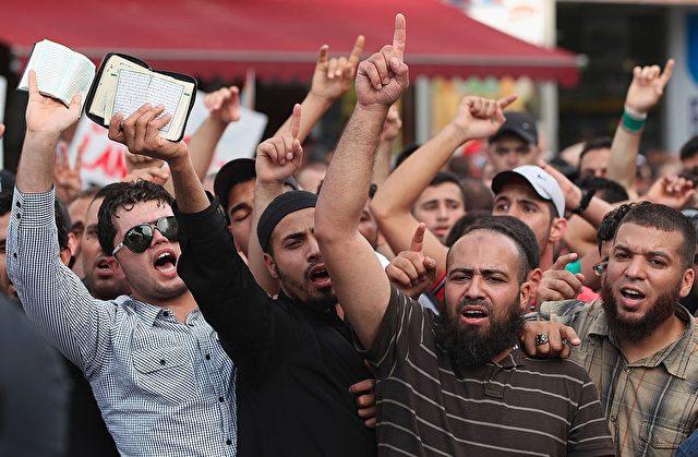 Salafisten in Deutschland. Foto: Sean Gallup/Getty Images