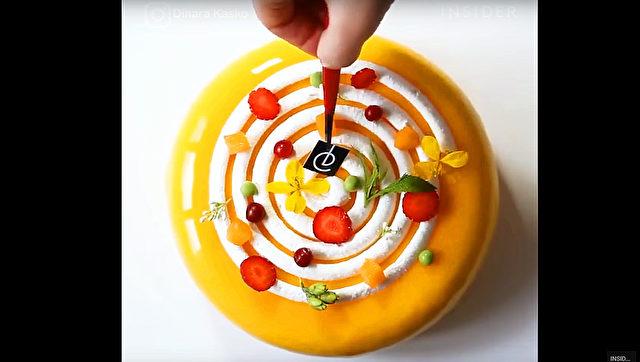 Architektur trifft konditorei kuchen wie aus einem museum for Architektur torte