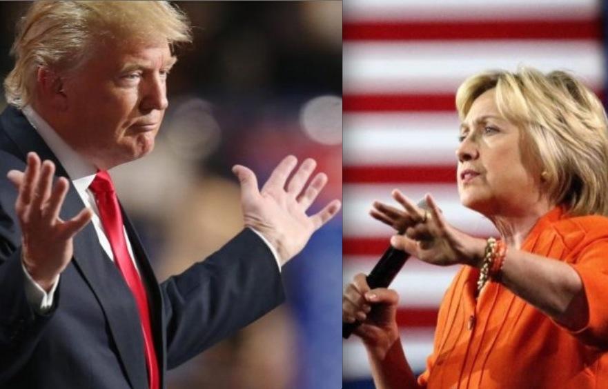 Clintons Wahlkampf-Team muss zittern: Trump holt in Umfragen auf
