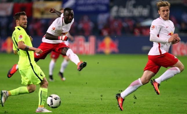 1. Bundesliga: Leipzig schlägt Augsburg 2:1