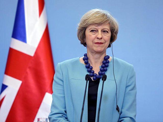 Premierministerin Theresa May. Foto:Tomasz Gzell/dpa