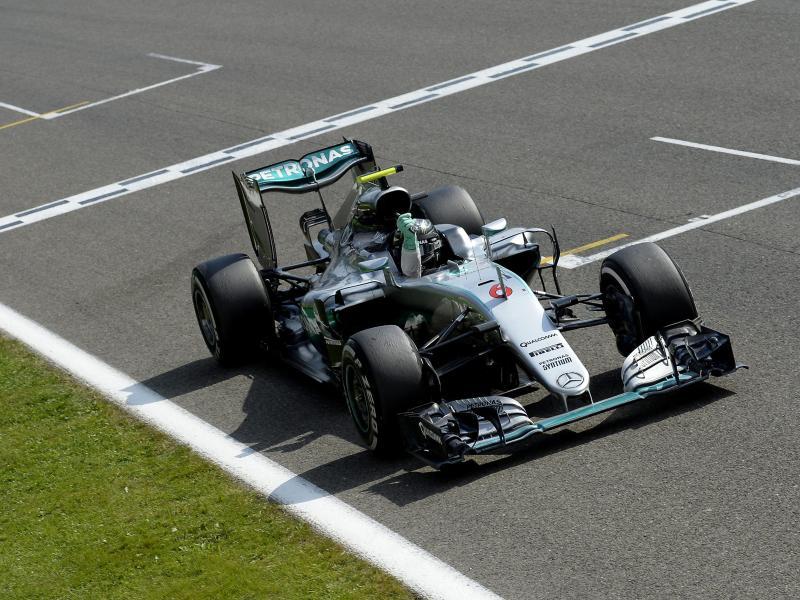 Rosberg mit Bestzeit im ersten Training von Monza