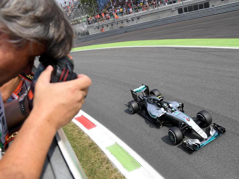 Die Runde für die Pole: Rosberg will Serie fortsetzen