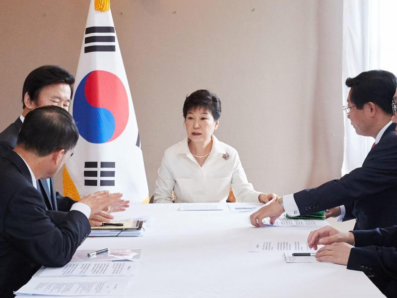 Affäre in Südkorea: Vertraute von Präsidentin Park festgenommen
