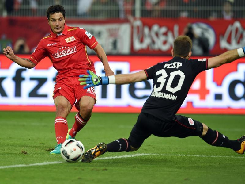 Union Berlin nach 2:0 gegen St. Pauli Zweiter