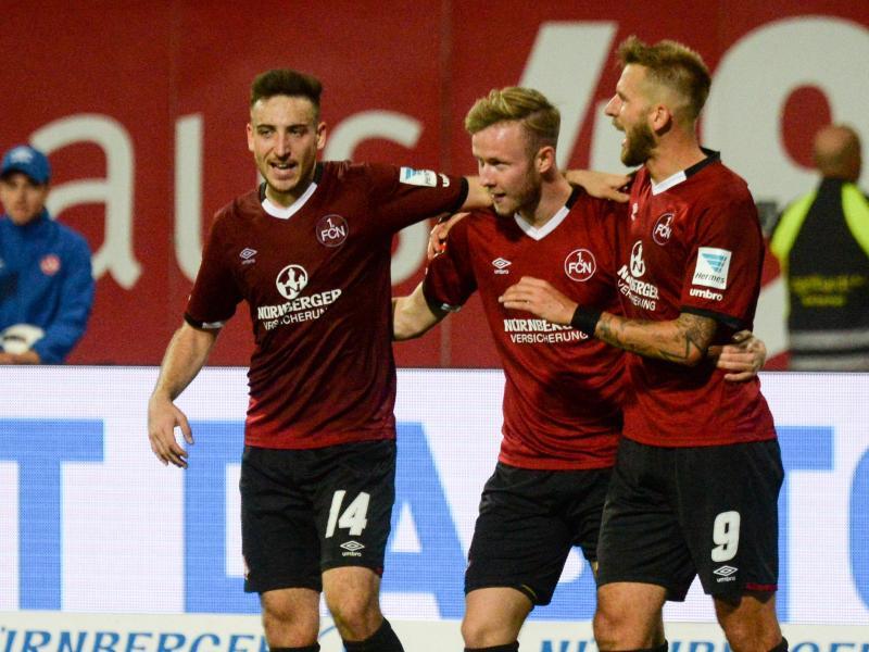 Nürnberg beendet Union-Erfolgsserie – Bochum gewinnt in Aue