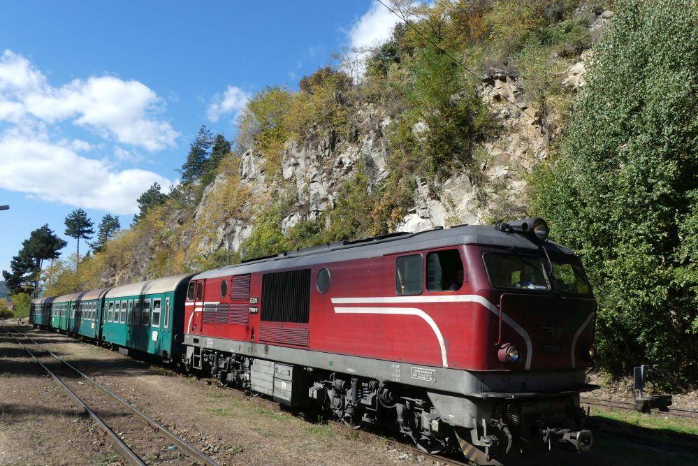 Schmalspurbahn im Rhodopen-Gebirge Foto: Bernd Kregel