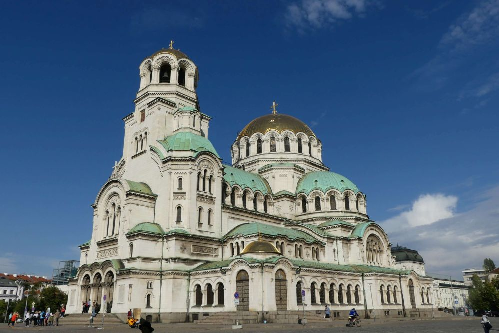 Die Alexandr-Nevski-Kathedrale in Sofia Foto: Bernd Kregel