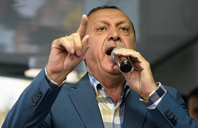 Der türkische Präsident Tayyip Erdogan Foto: Defne Karadeniz/Getty Images