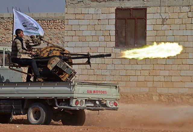 Syrien-Krieg 2016 Foto: NAZEER AL-KHATIB/AFP/Getty Images
