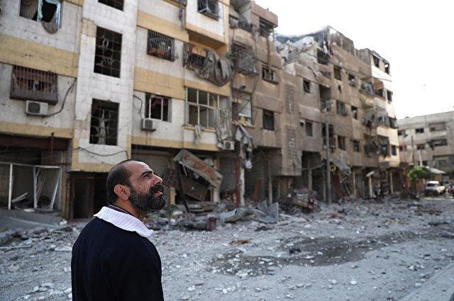 Damaskus, Syrien 2016 Foto: ABD DOUMANY/AFP/Getty Images