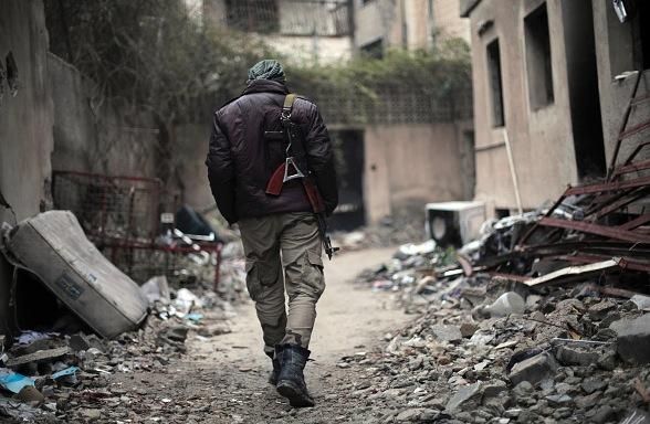 Ein Kämpfer im Syrien-Krieg Foto: Getty Images