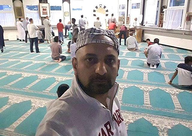 Shams Ulhaq Moschee selfie