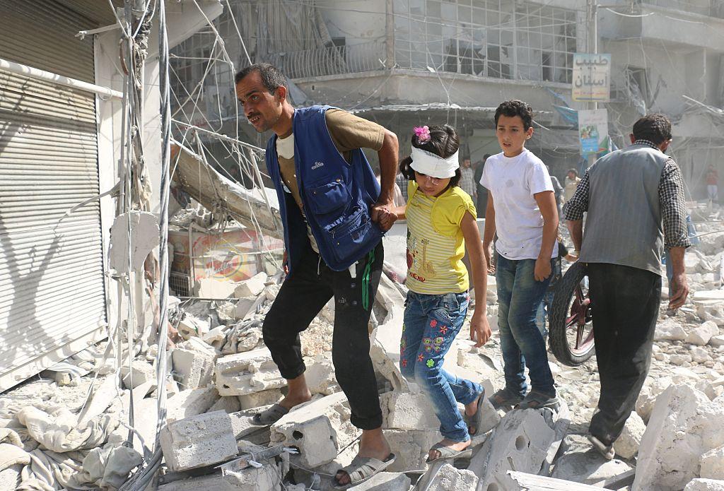 """""""Humanitäre Pause"""": Zehnstündige Feuerpause für umkämpfte syrische Stadt Aleppo"""