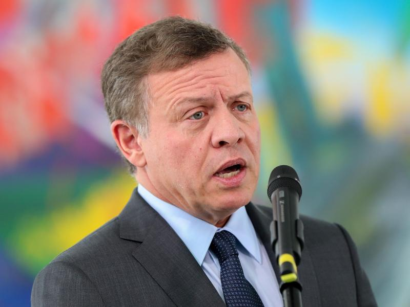 Westfälischer Friedenspreis an Jordaniens König Abdullah II.