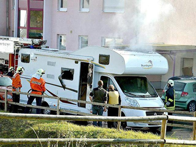 Im November 2011 wurden in einem Wohnmobil in Eisenach die Leichen von Uwe Mundlos und Uwe Böhnhardt entdeckt. Foto: Carolin Lemuth/Archiv/dpa
