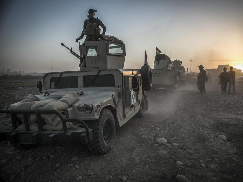 Mossul-Großoffensive beginnt: UN rechnet mit einer Million Flüchtlinge