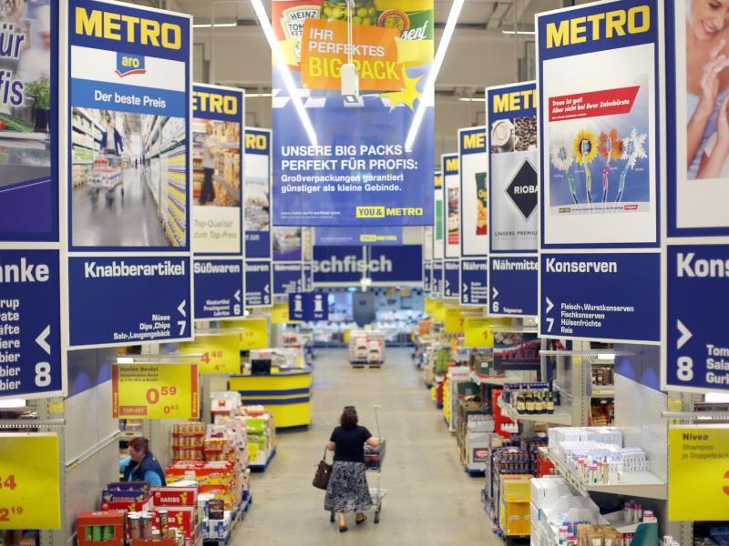 Metro verkauft Supermarktkette Real