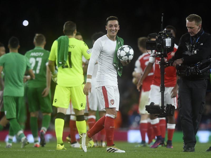 Die wunderbare Verwandlung des Mesut Özil zum Torjäger