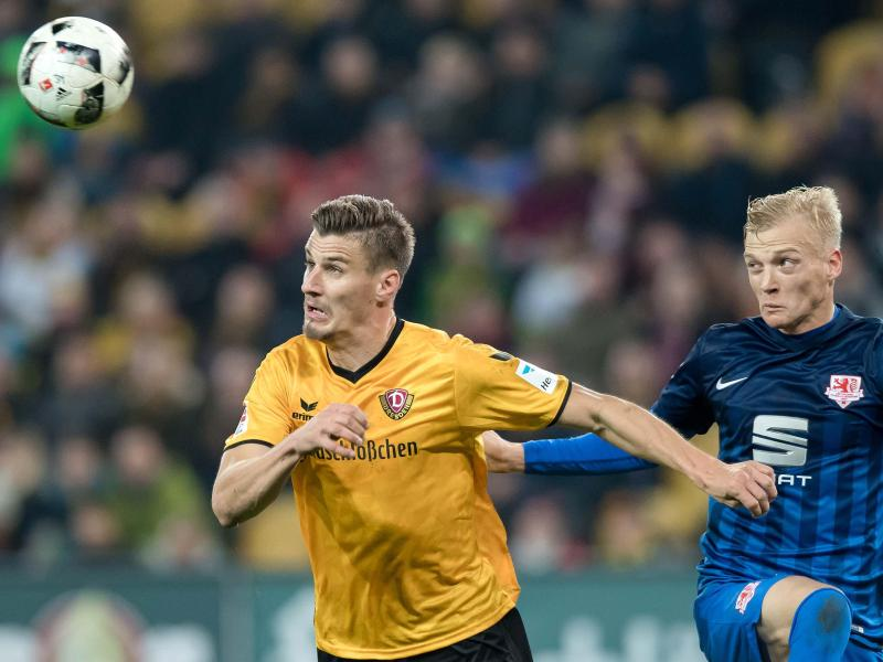Tabellenführer Braunschweig verliert in Dresden 2:3